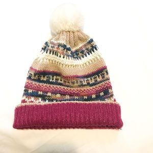 Juicy Couture winter multi colored beanie